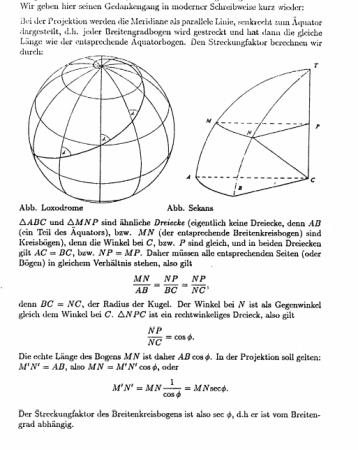 Mercatorprojektion geom. Herleitung S1.png